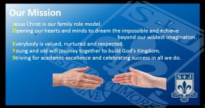 Aims and Mission Statement - St Joseph's R C  High School